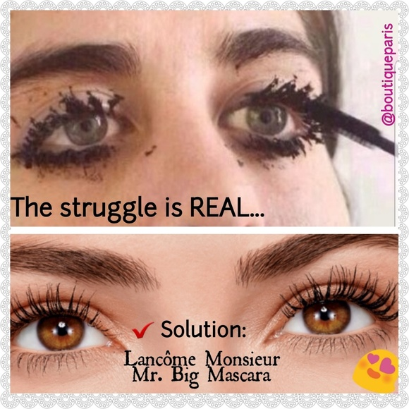 28340577d44 Lancome Makeup | Newlancme Monsieur Mr Big Mascara Setfirm | Poshmark